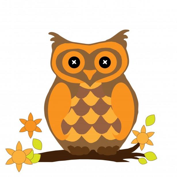 Owl clipart september Public Public Owl Clipart Domain