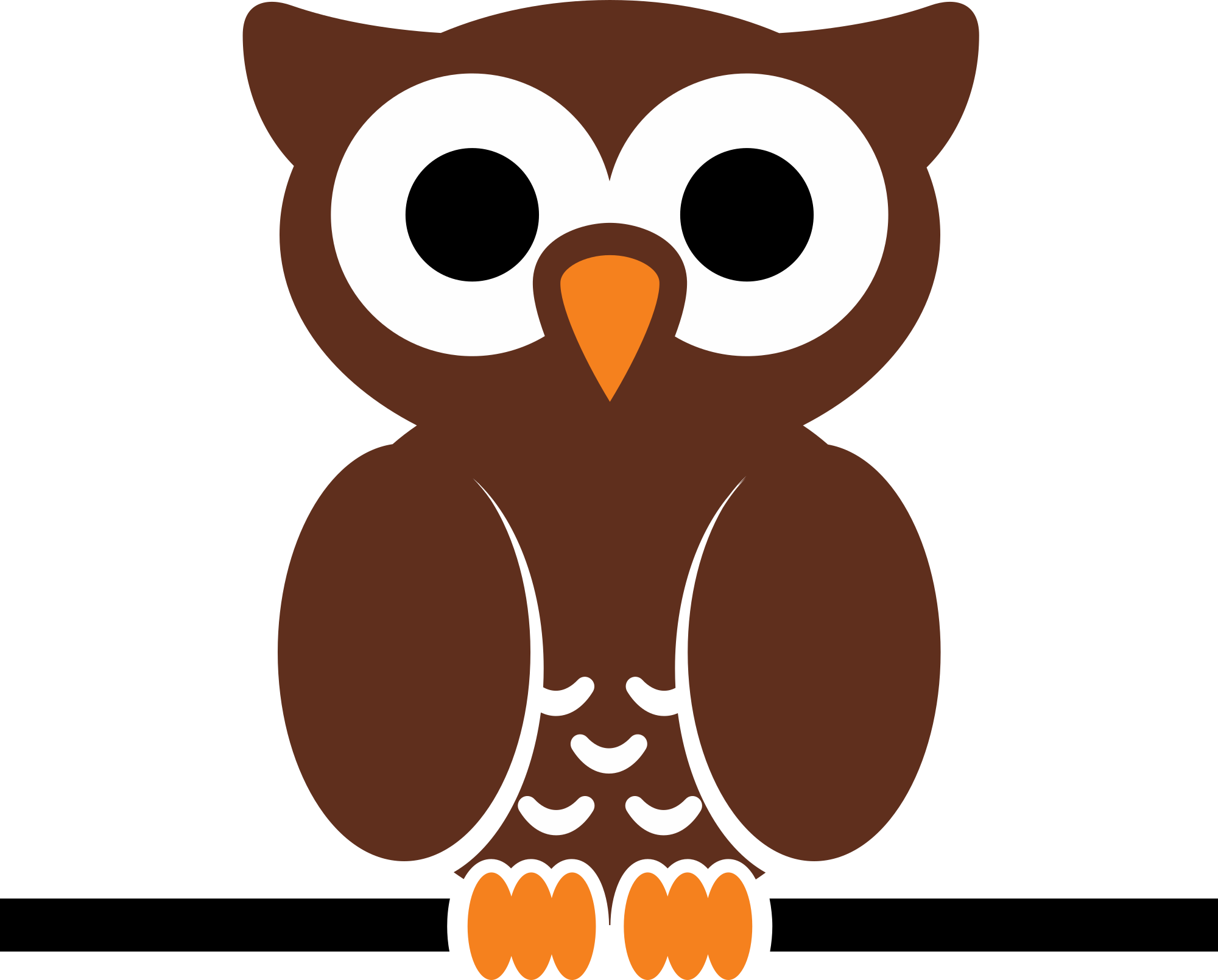 Simple clipart owl Owl (78+) Simple clipart Free
