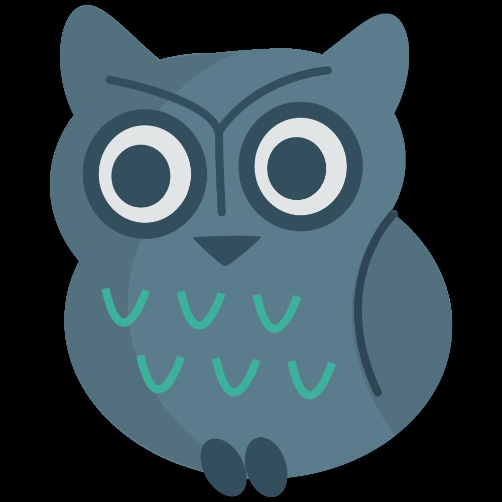 Simple clipart owl Simple & Free Art owl26