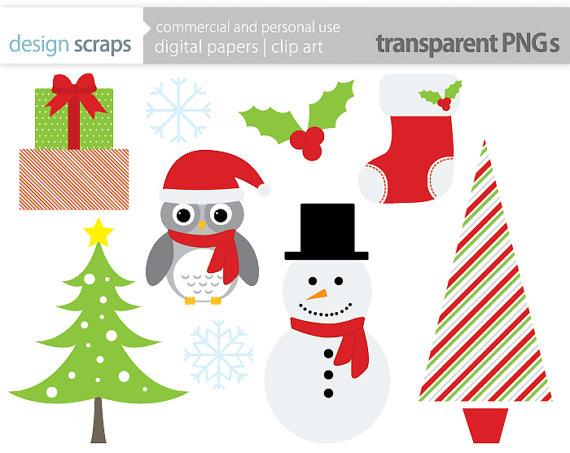 Owl clipart snowman Graphics tree snowman holly christmas