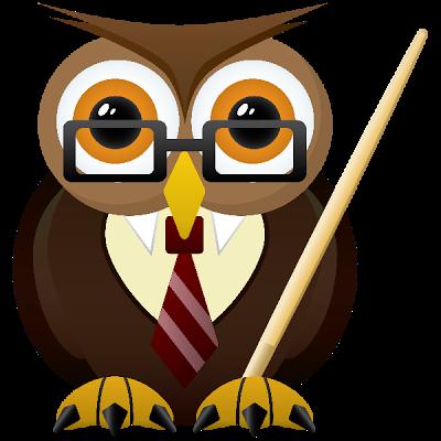 Owlet clipart cute teacher Owl School Cartoon Funny Teacher