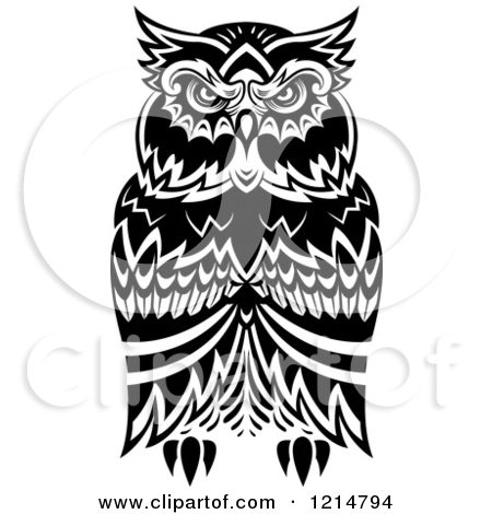Owl clipart tribal Tribal Download Clipart Clipart Owl
