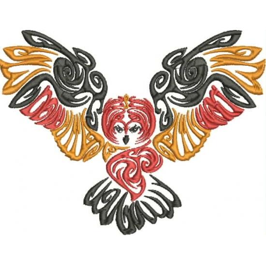 Owl clipart tribal Owls Tribal Embroidery Owls Pamela's
