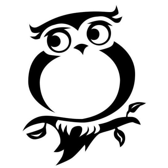 Owl clipart tribal 1388 images Pinterest – Baikush
