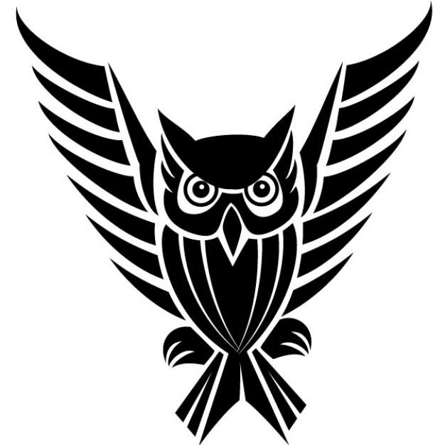 Owl clipart tribal Vectors Free Artg  215
