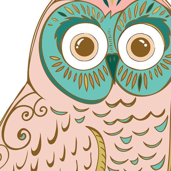 Owl clipart vintage Folk Images file is Owl