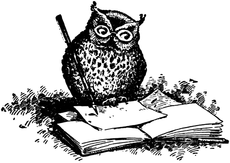 Owl clipart vintage Art So Wise Clip Wise