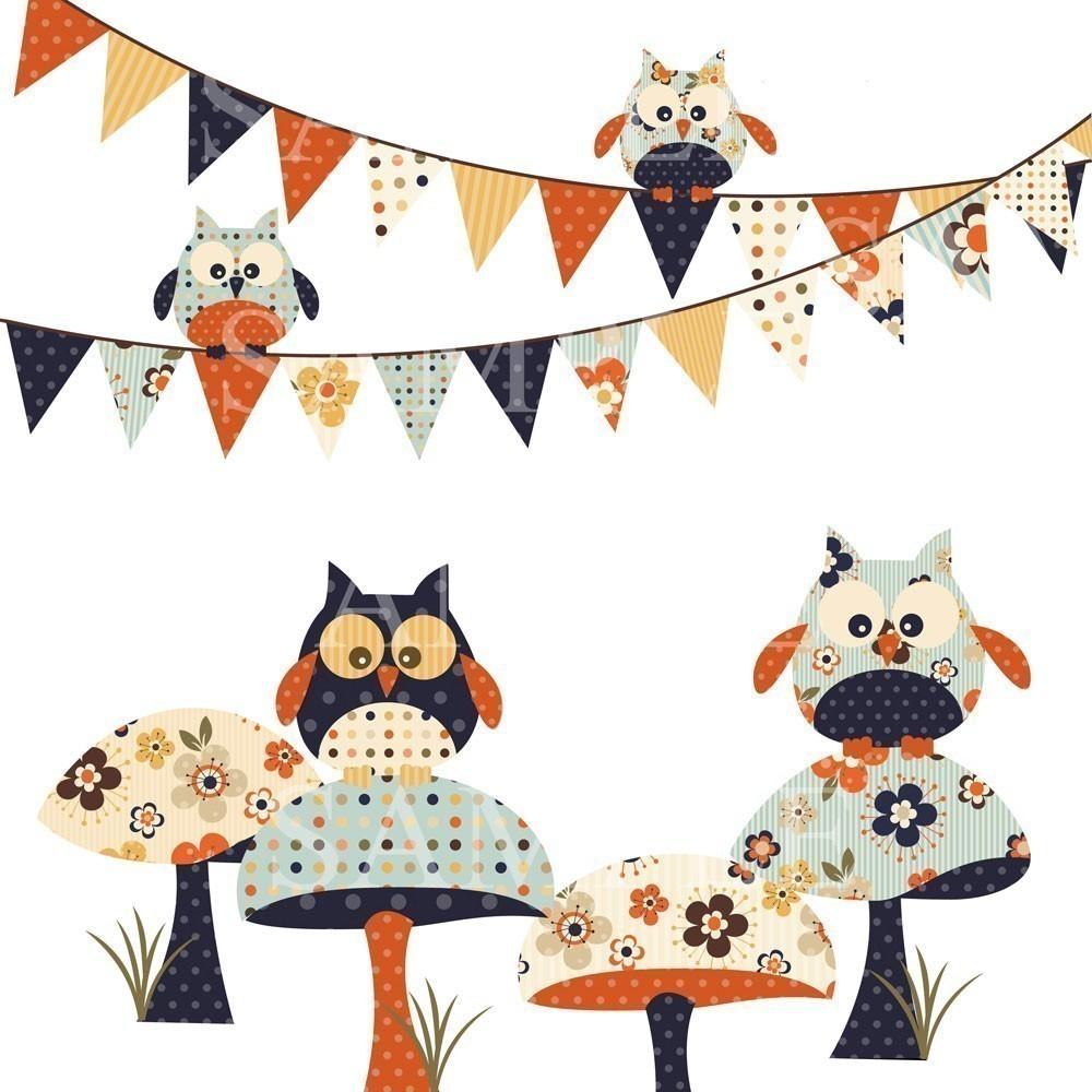 Owl clipart vintage Owl Owl clip Vintage Clip