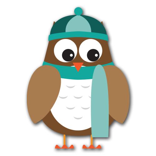 Gallery clipart winter fun Winter Owl Clipart Winter Owl