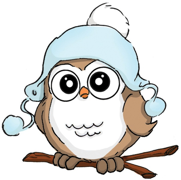 Owlet clipart winter Pin this on Pinterest Clipart