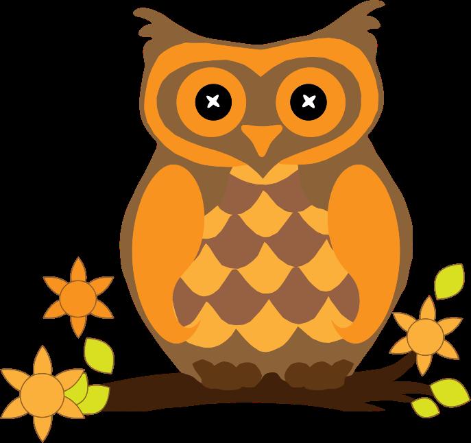 Owlet clipart Owl Clip Clip Art Orange