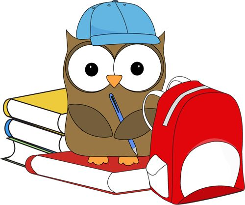 Covered clipart free school Free from art collection owl