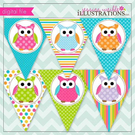 Owlet clipart birthday party On images Party… Party Owl