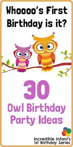 Owlet clipart birthday party Owl Pinterest best incredibleinfant