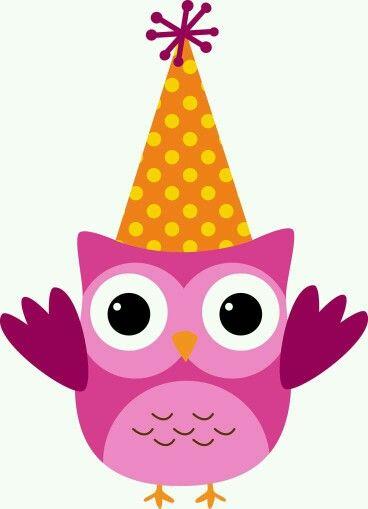 Owlet clipart birthday party Pinterest Buhos on 87 gorro