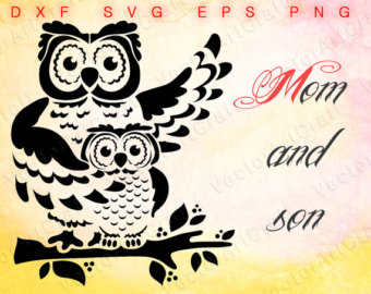 Owlet clipart bunny Owlet for sticker Etsy and