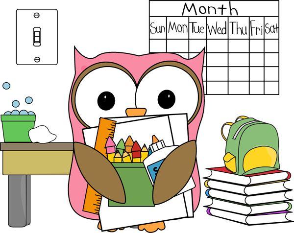 Owlet clipart classroom Best Owl Job 113 images