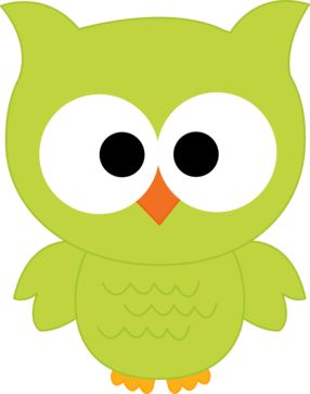 Owlet clipart creepy On GREEN CLIP OWL Pinterest