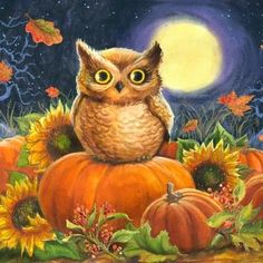 Owlet clipart creepy Art ACUARELAS Owl Find Pin