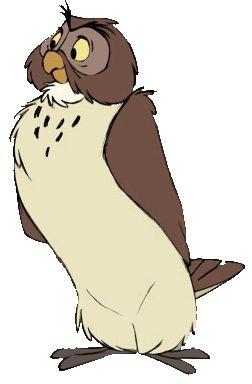 Owlet clipart disney Owl4 OWLs! 252×384 best gif