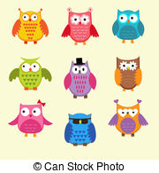 Owlet clipart education Cute 1 586 owls royalty