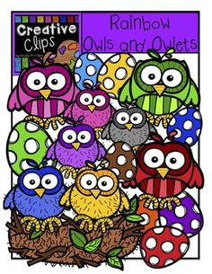 Owlet clipart egg Name Clips  Flower Stick