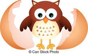 Owlet clipart egg Vector image clipart owl Clip