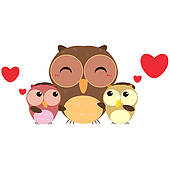 Owlet clipart family tree Owl Royalty Mother family Clip