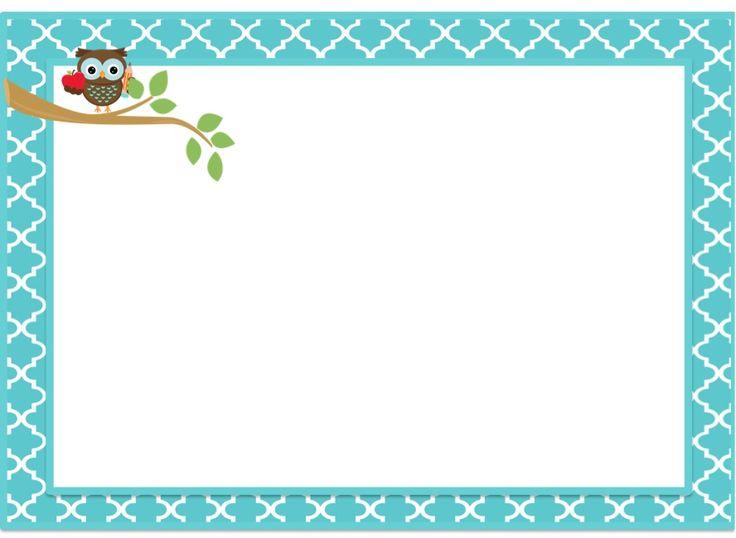 Owlet clipart frame Images Google owl Pinterest Owl