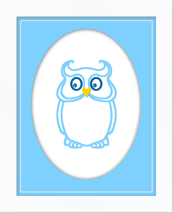 Owlet clipart frame Of white item? 4 in