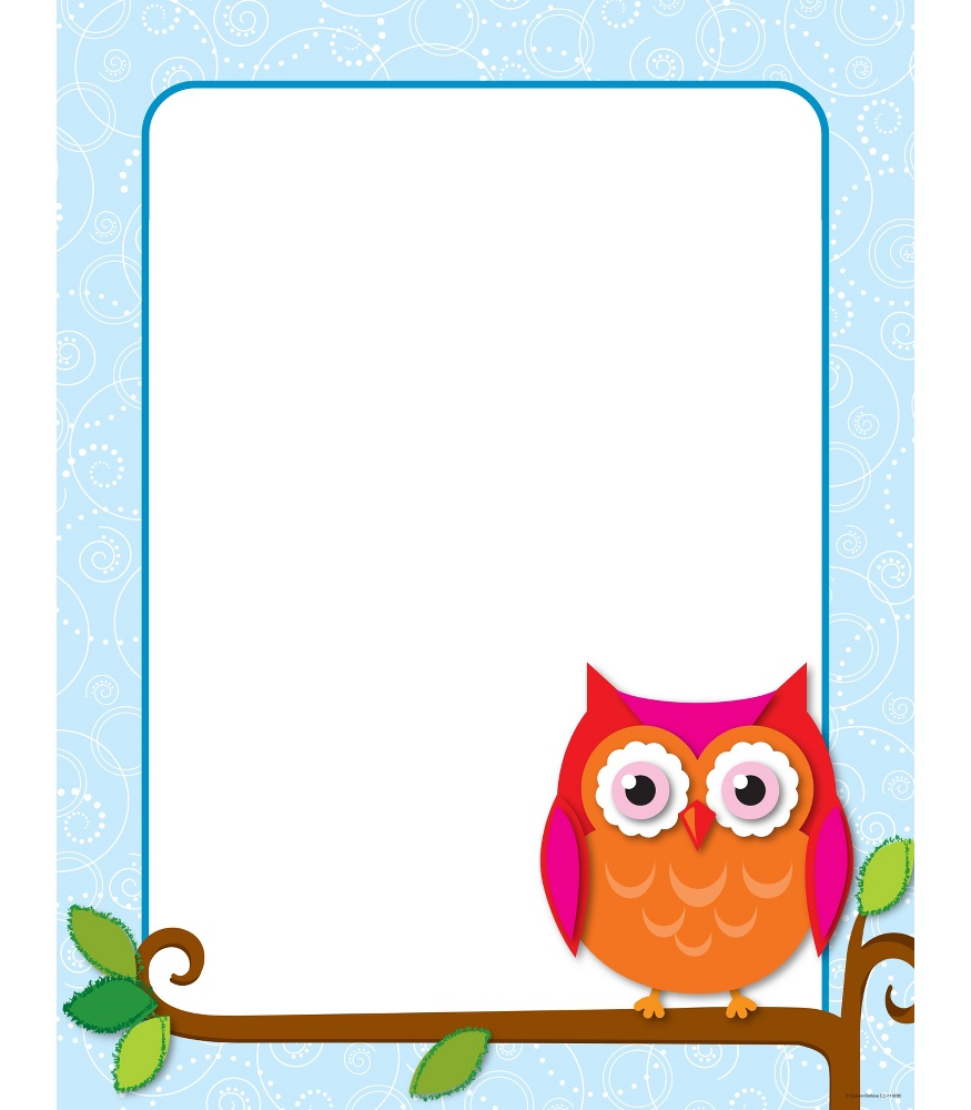 Owlet clipart frame With inspirational with complete Create