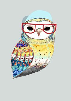 Owlet clipart hipster Limited day by The Hipster