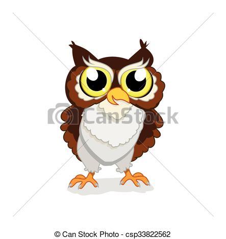 Owlet clipart logo Vector of Art Vector Search