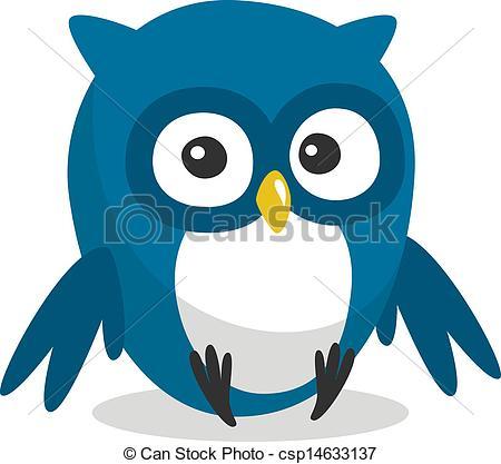 Owlet clipart logo  Vectors with big of