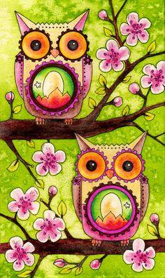 Owlet clipart mexican Souls' Art Print Tree 'Joyful
