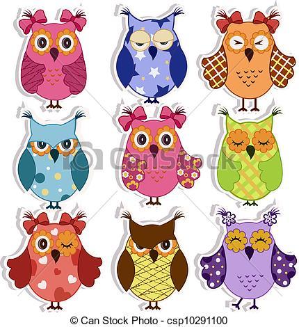 Owlet clipart mexican Owls Cartoon owls owls Cartoon