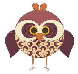 Owlet clipart november A Day Owl 9 Away