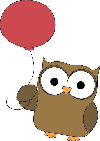 Owlet clipart november Balloon 156 by images Uiltjes