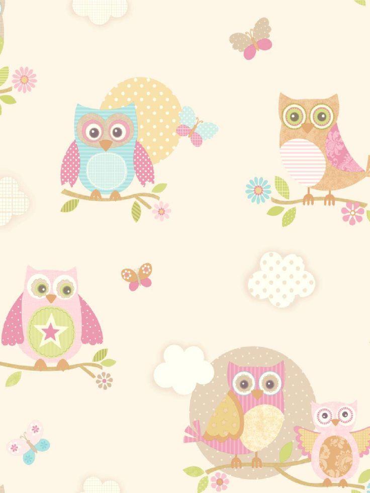 Owlet clipart pastel Best ♥ Illustrations~Owls pattern 1347