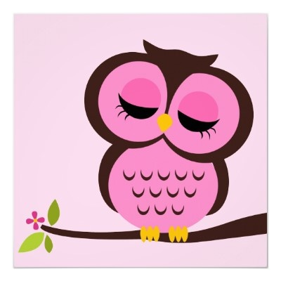 Owlet clipart pink and brown Wall Pinterest images Art Owl