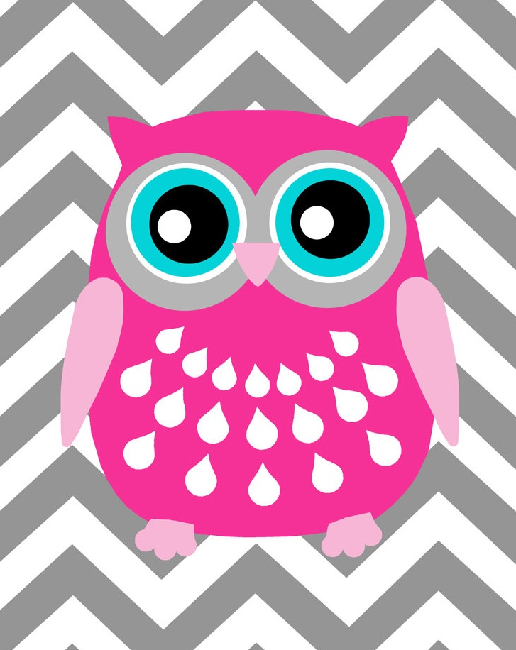 Owlet clipart pink and brown Animals/Pets  Miss Clip Categories