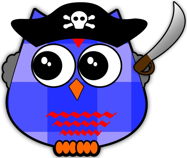 Owlet clipart pirate Pinterest *✿**✿*BUHOS*✿**✿* OwlOwlsPiratesClip images }