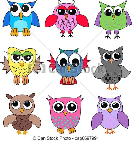 Owlet clipart pirate Searching búhos  csp6697991 diferente