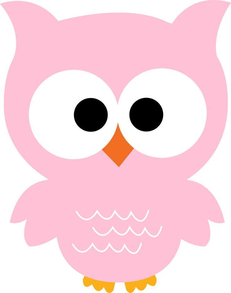 Owlet clipart printable Images Pinterest OWL kleuterklas: PINK