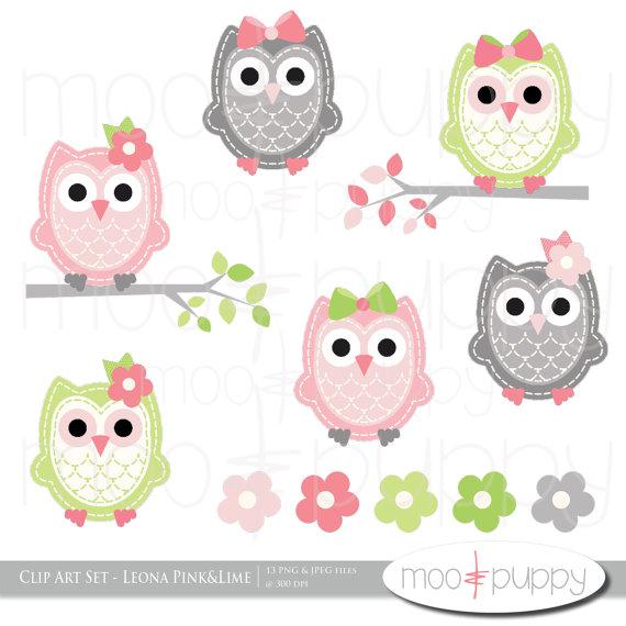 Owlet clipart printable Art Owl clip INSTANT printable