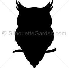 Owlet clipart silhouette Pinterest of JPG art Thomsen