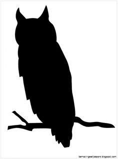 Owlet clipart silhouette Amazing de Art para Owl
