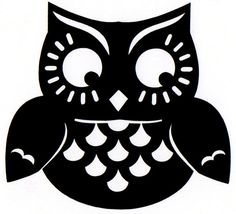 Owlet clipart silhouette Clip at Фото We Яндекс