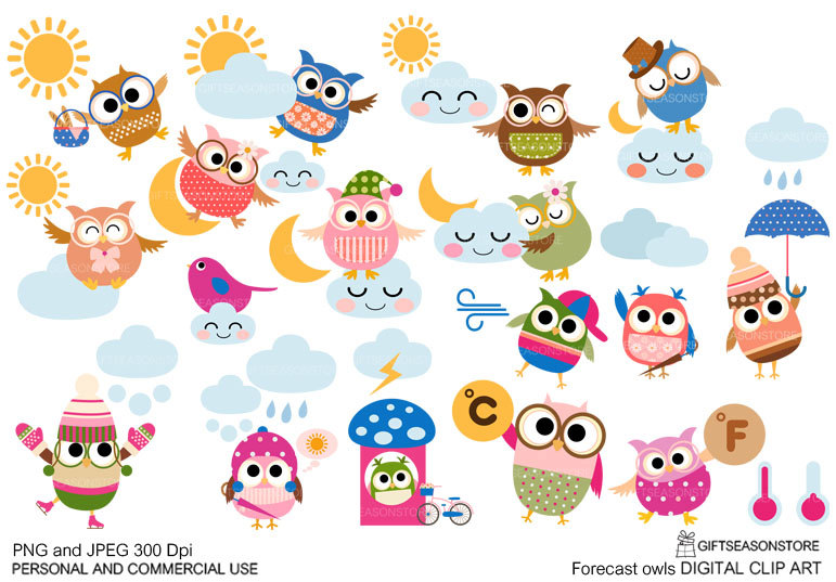 Owlet clipart sport Forecast Personal for Commercial clip
