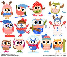Owlet clipart sport Chouette Owl Cute Cartoon art